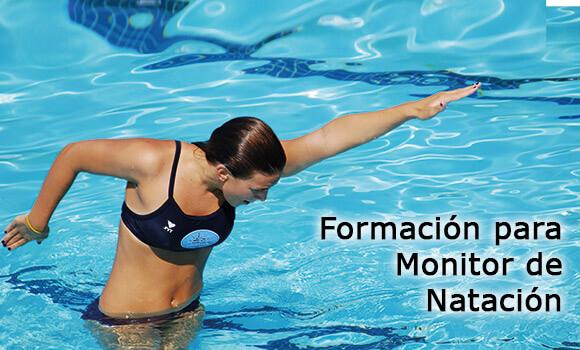 Curso de monitor de natación