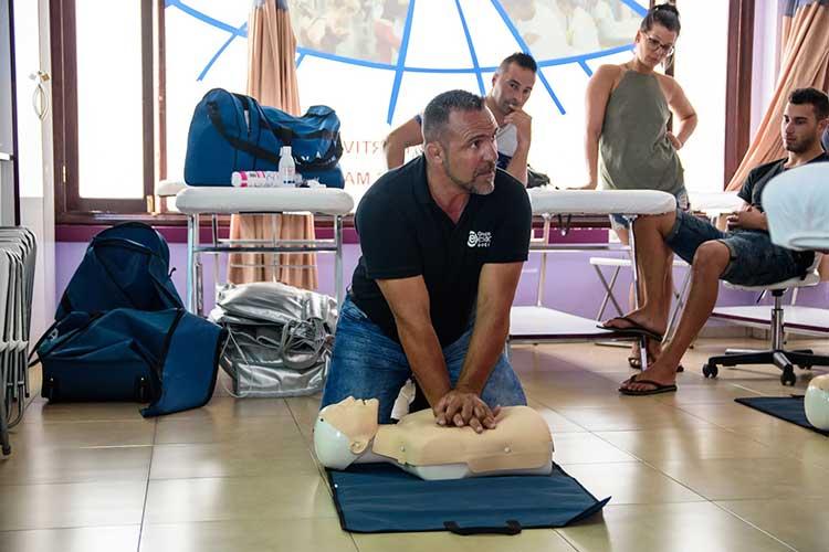 curso de primeros auxilios en Lanzarote