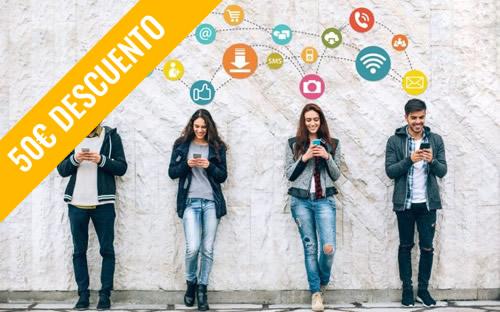"""Curso de <br /><span class=""""titulooferta"""">EXPERTO EN REDES SOCIALES Y WEB</span>"""