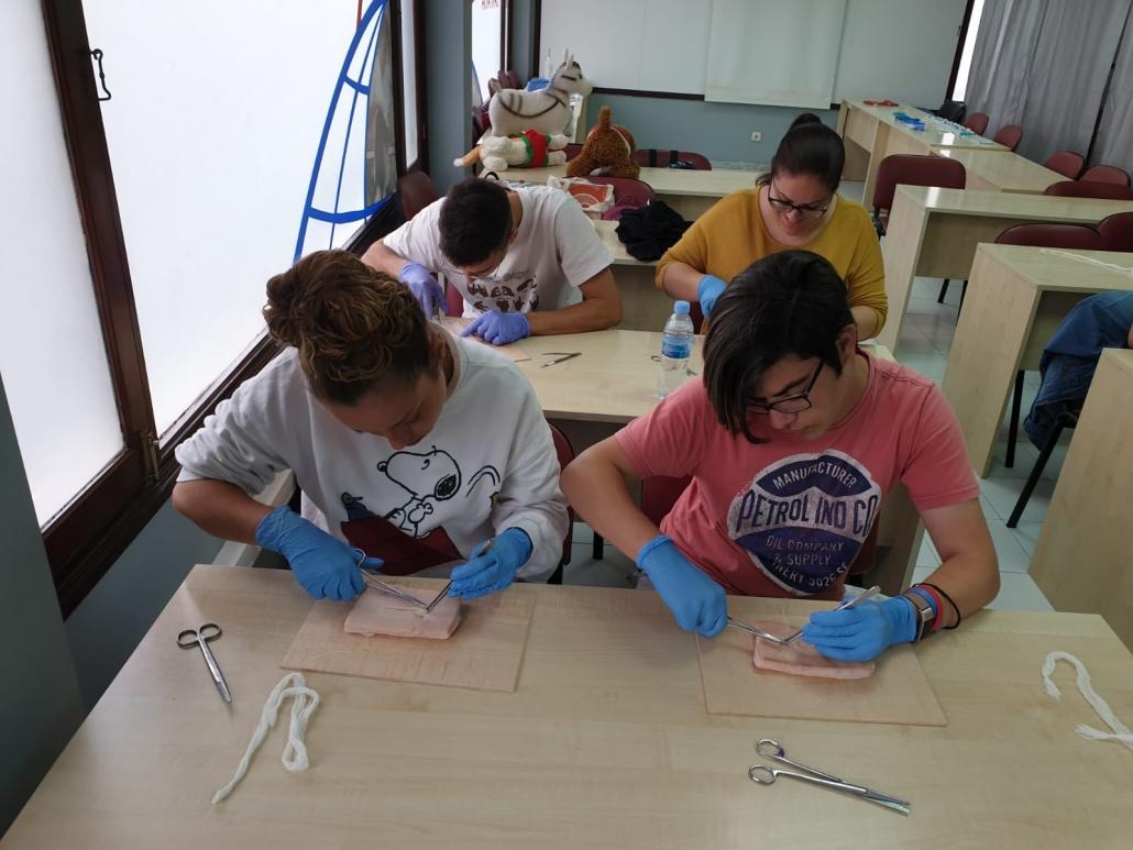 Practicas Auxiliar Veterinaria